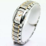 Bvlgari Assioma D Aa26c6spgs Quartz White Dial Rose Gold Stainless Womenand039s