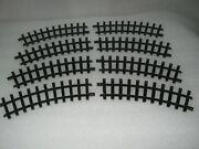 8 New Bright Train 13 Track Curve Pieces G Scale Lot Replacement No 5