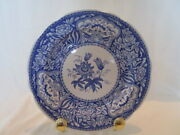 Set 6 Spode Blue Room Collection Dinner Plates Floral Willow Rome Seasons More