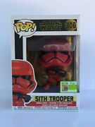 Star Wars Funko Pop Red Sith Trooper Sdcc 2019 Exclusive 306