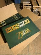 Collectible Legend Of Zelda Monopoly Sealed Fresh Out Of Case New
