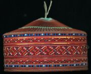 Vintage Tribal Exotic Chinese Ethnic Miao Peopleand039s Old Hand Embroidery Girl Hat