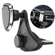 Magnetic Phone Holder Bracket Clip Cell Phone Accessories For Car Cd Slot Mount