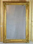 Large 19th Century French Gilded Mirror 32¼ X 50