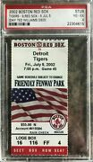 2002 Baseball Ticket Stub - The Day Ted Williams Died