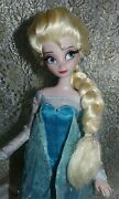 Ooak Elsa Disney Store Frozen Articulated Classic Doll 11.5 Dress Shoes Restyle