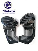 Black Vented Lower Fairing W 6x9 Speaker Boxes Pods For 1994-2013 Harley Touring