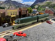 Custom Painted Northern Pacific Np Kato N Scale Fp7a And F7b - Dc/dcc/sound