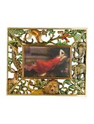 Jay Strongwater Picture Frame Crystal Jungle Animals