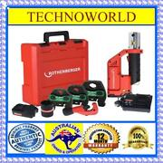 Rothenberger ◉ Compact Twin Turbo ◉ B-press Tool Kit ◉15mm-20mm-25mm