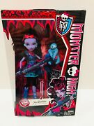 Monster High Jane Boolittle W Pet Sloth Aww 2013 First Wave Excellent Nrfb New