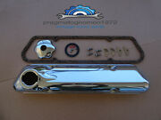 Volvo 121 122 P1800 Pv 544 140 Valve Cover Kit Chrome With Breather