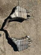 Both Rear Mufflers Sold As A Set Mercedes S-class S550 221 Type 07 08 09 10 11