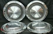 1974 - 1978 Plymouth Trail Duster Fury Van 100 200 300 Hubcaps Set Of 4