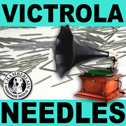 100 Medium Toned Record Player Needle Pack For Hand Crank Victrolas And Gramophone