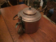 1 Islamic Copper Water Pot, Large, Tinned Interior