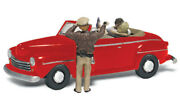 Woodland Scenics 1/160 N Scale Copand039n A Kiss Autoscenes As5337 Police And Couple