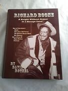 Richard Boone A Knight Without Armor In A Savage Land-signed By Author+ Others