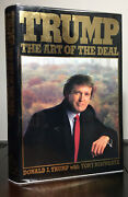 The Art Of The Deal By Donald Trump   Signed   1st/1st   First Edition Stated