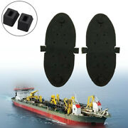Black Exhaust Flappers Water Shutters Marine Outboard Kit Water Resisting Gate