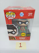 In Hand Funko Pop Dc Imperial Metallic Chase Robin China Exclusive Le500 {1}