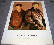 Pet Shop Boys Absolutely Stunning And Rare 1986 German Issue Personality Poster