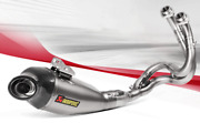 Full Exhaust Akrapovic Road Steel Approved For Kawasaki Versys 650 2018