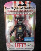 🔥🧸🔥five Nights At Freddyandrsquos Lefty Walmart Excl Funko Rare Action Figure Fnaf
