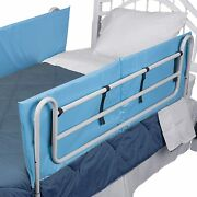 Dmi Bed Rail Bumper Pad Cover 60 X 15 X 0.5 Rails Not Included Blue 2 Count