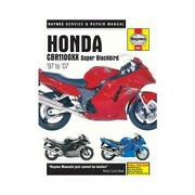 Haynes Motorcycle Repair Manual For Honda Cbr 1100 Xx Super Blackbird 1997-2002