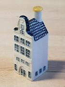 Bols Blue Delft For Klm Miniature House No. 42 Unopened