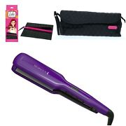Remington Flat Iron Straightener W/ Silicon Mat And Caboodle Hot Tool Clutch New