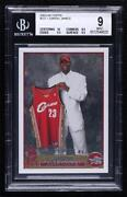 2003-04 Topps Lebron James 221 Bgs 9 Rookie