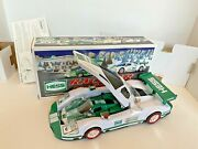 2009 Hess Truck Race Car And Racer Friction Tested And Working Nib Mint