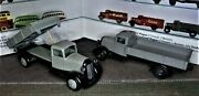 Lot Of 2 Vintage Dinky Toys Meccano 1940's 25 A And E Trucks