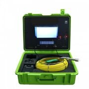 Sewer Drain Pipe Cleaner 1 Inspection Camera Lcd 10 130 Ft Cable 512hz Sonde