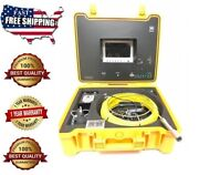 Sewer Drain Pipe Cleaner 1 Inspection Video Snake Camera Lcd 7 Usb 65 Ft 1/4