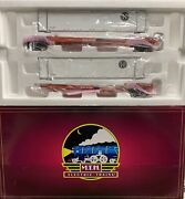 ✅mth Premier Bnsf 2 Car Spine Set 20-95178 Intermodal Containers Ttx O Scale