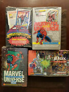 Marvel Universe Collection Series I Iiiii Iv Factory Sealed Boxes 1-4