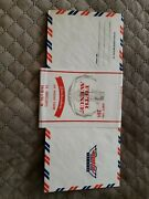 Nos Pack Of 7 Vintage Air Mail Envelopes From Fifth Avenue In Sleeve