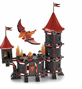 Fisher-price Trio - 2 Sets Kingand039s Castle And Wizardand039s Castle