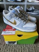 Ds Nike Sb Dunk Low Pro Qs Sean Cliver Holiday Special - Dc9936-100 - Size 10