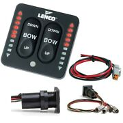 Lenco Marine Inc. 15170-001 Led Indicator All-in-one Integrated Tactile Switch