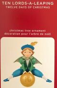 2020 Hallmark Ornament Ten Lords A Leaping 12 Twelve Days Of Christmas 10