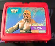 Vintage Red 1989 Wwf Hulk Hogan Lunchbox With Thermos Mint/never Used