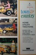 Minneapolis Moline And White Town Country Garden Tractor Sales Brochure 2 Manuals