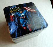 1992 1993 Marvel Masterpieces Set - Sealed Collector's Tin Lost Cards Spectra