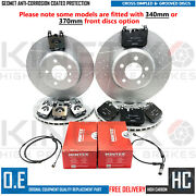 For Bmw 335d Front And Rear Performance Brake Discs Mintex Pads Wires 370mm 345mm