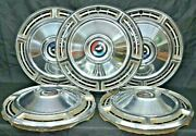 1968 68 Chevy Chevrolet Chevelle Hubcaps Hub Caps Wheel Covers Used Set Of 5