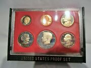 Uncirculated 1981 S Us Mint Proof Set Coins In Acrylic Case + Us Mint Case
